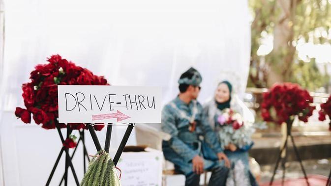 Praktis dan Aman, Resepsi Pernikahan Drive Thru Mulai Dilirik