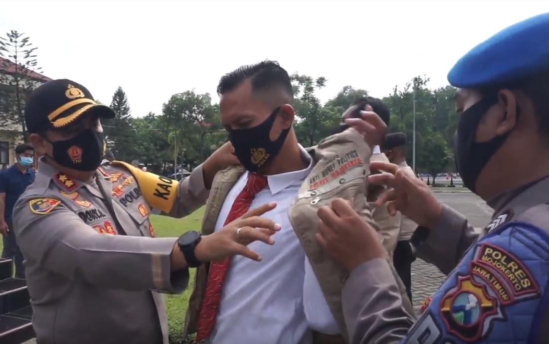Bentuk Timsus Anti Money Politic, Polres Mojokerto Awasi Transfer Mencurigakan