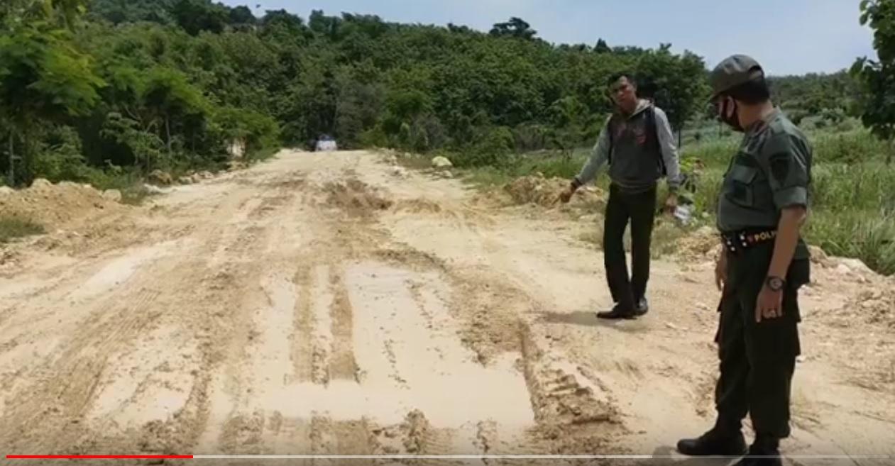 Sidak Galian C Gresik, Perhutani Temukan Aktifitas Keluar Masuk Dump Truk Sebabkan Kerusakan Jalan