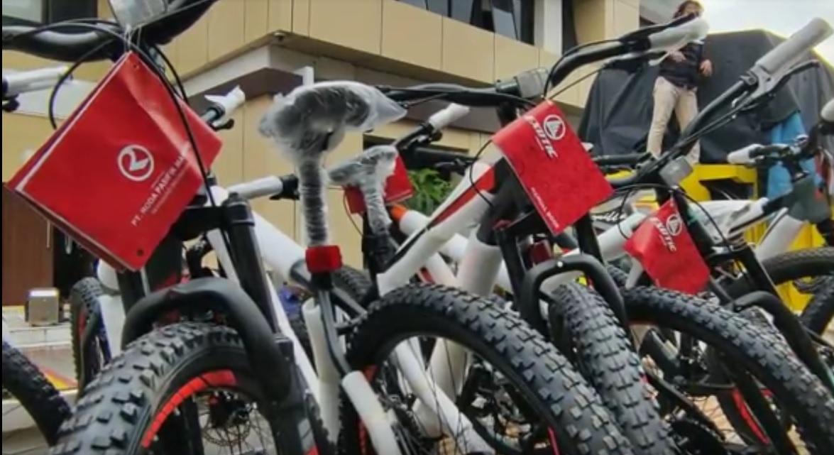 Sopir Ekspedisi Bawa Kabur Ratusan Sepeda Gunung