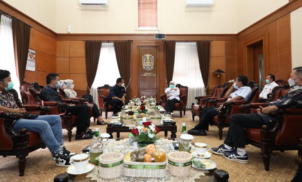 Gubernur Khofifah Terima Audiensi AMSI Jatim