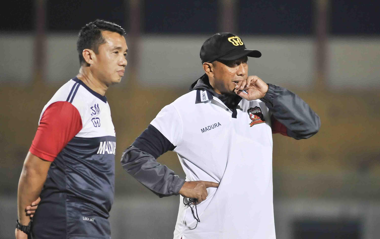 Berubah, Ini Komposisi Lengkap Tim Pelatih Madura United