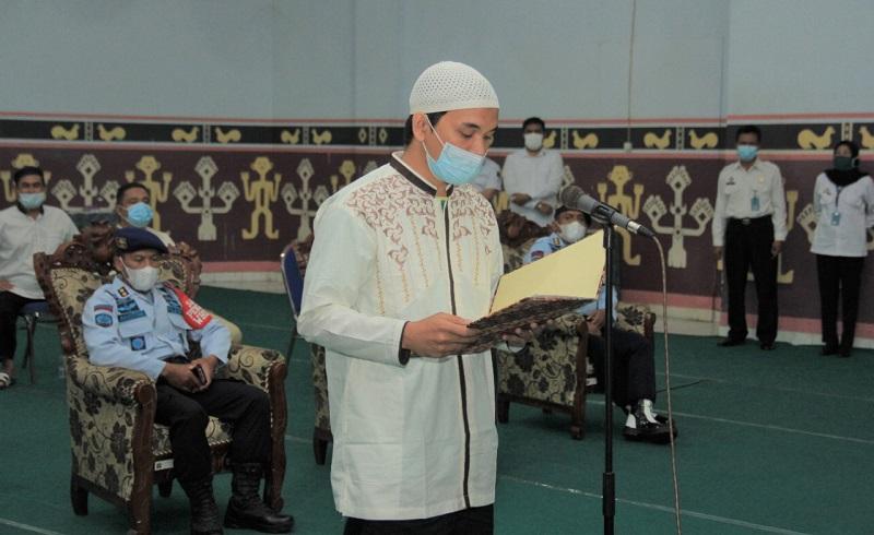 Mantan Anggota JAD dan ISIS Mukarram Bin Sabarin Sumpah Setia Kepada NKRI