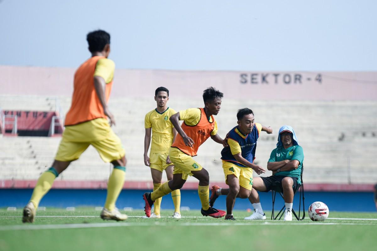 Latihan Tertutup, Persebaya Nyaman di Stadion Gelora Delta Sidoarjo