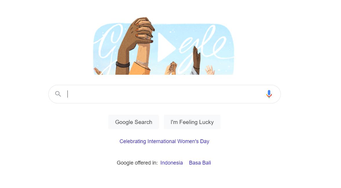 Google Doodle Tampilkan Video Menarik untuk Rayakan Hari Perempuan Sedunia