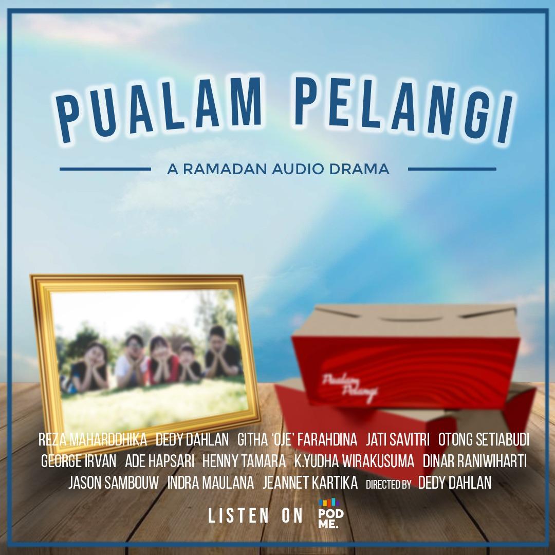 Bosen Ngabuburit Gitu-gitu Saja? Yuk, Dengerin Drama Ramadan 'Pualam Pelangi' di Podme