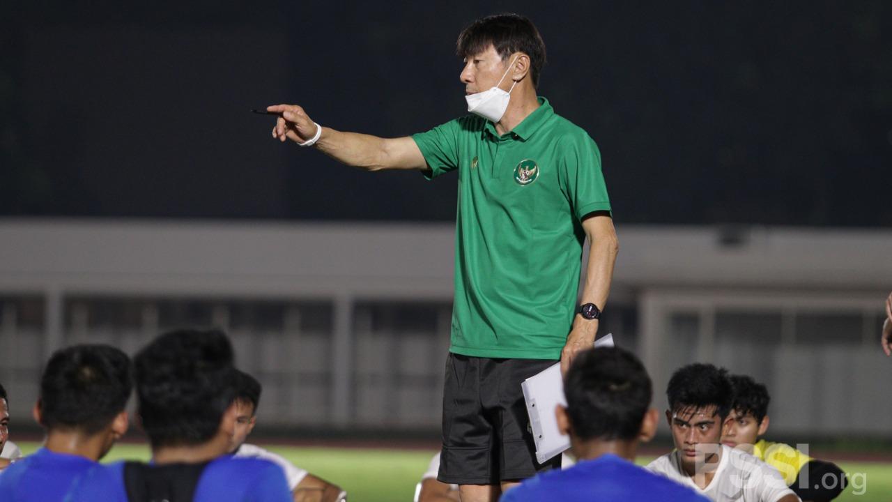 Pelatih Timnas, Shin Tae-yong.  (pssi)