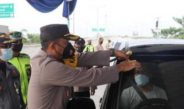 Penyekatan di Tol Ngawi Diperpanjang Hingga 31 Mei