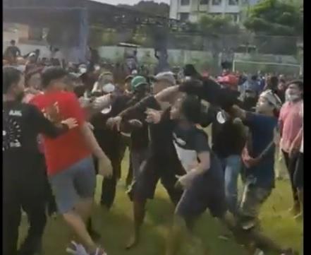 Rusuh! Lomba Kicau Burung Piala Wali Kota Malang Diwarnai Baku Hantam
