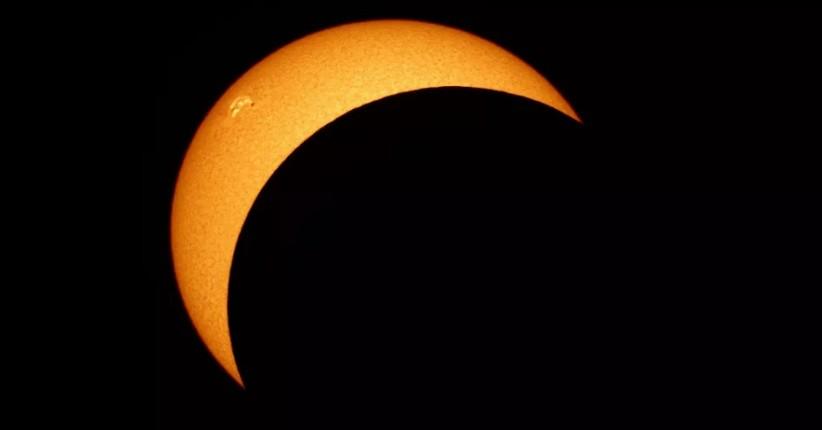 Gerhana Matahari (Foto / Istimewa)
