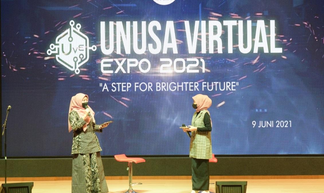 Virtual Expo 2021 Unusa Diikuti 1000 Peserta