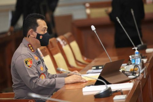 Kapolri Jenderal Listyo Sigit Prabowo (Foto / MI)