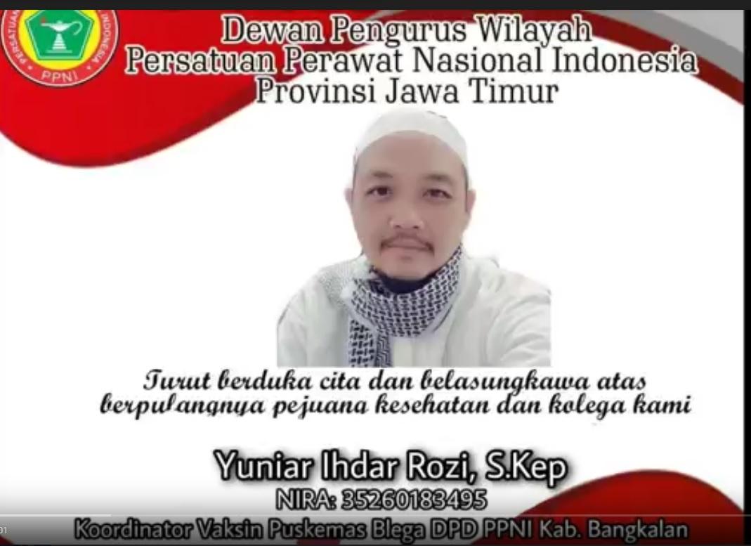 Nakes di Bangkalan Meninggal Positif Covid-19,  Sudah 2 Kali Vaksin!