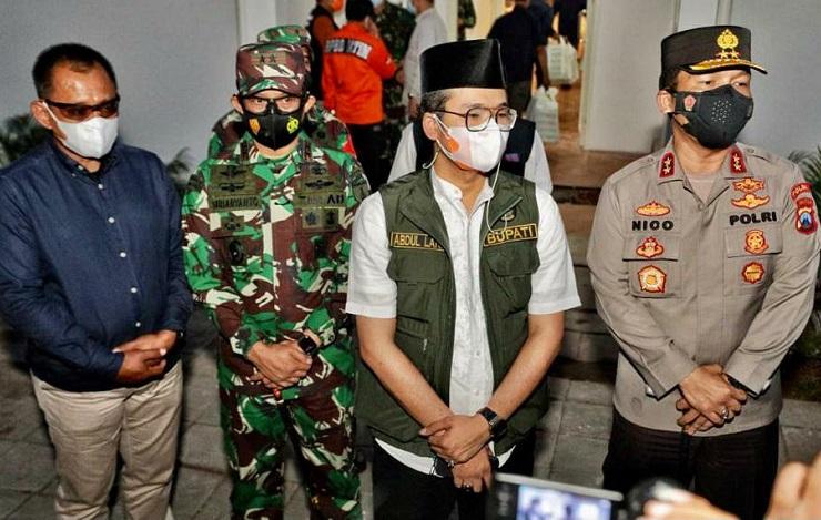 Kapolda Jatim Ajak Warga Bangkalan Bekerja Sama Atasi Covid-19