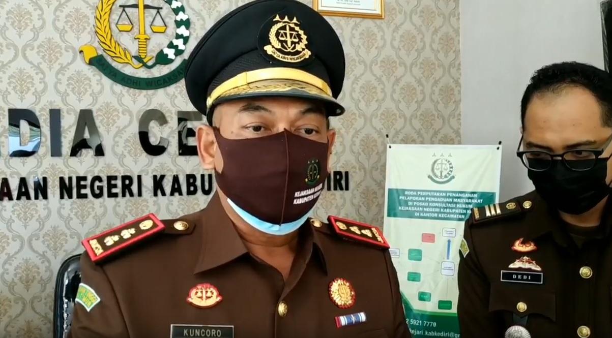 Kepala Kejaksaan Negeri Kabupaten Kediri, Sri Kuncoro (ist)