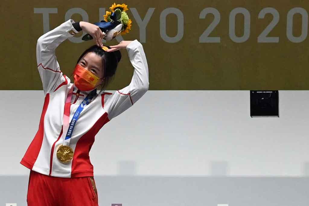 Penembak China Rebut Emas Pertama Olimpiade Tokyo
