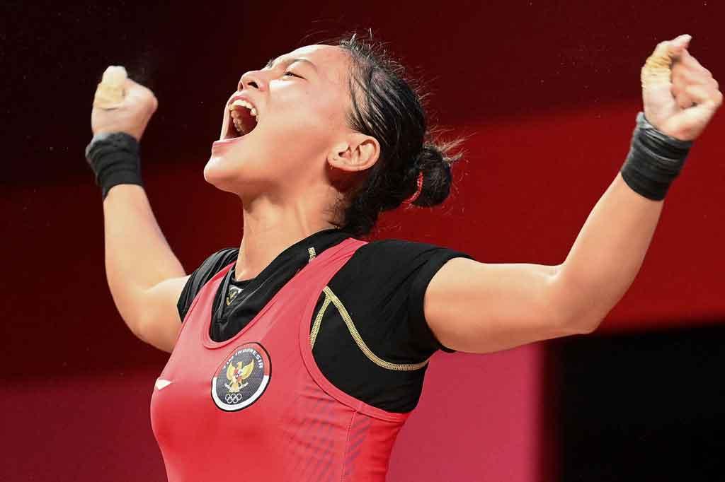Merah Putih Berkibar, Lifter Belia Sumbang Medali Pertama untuk Indonesia
