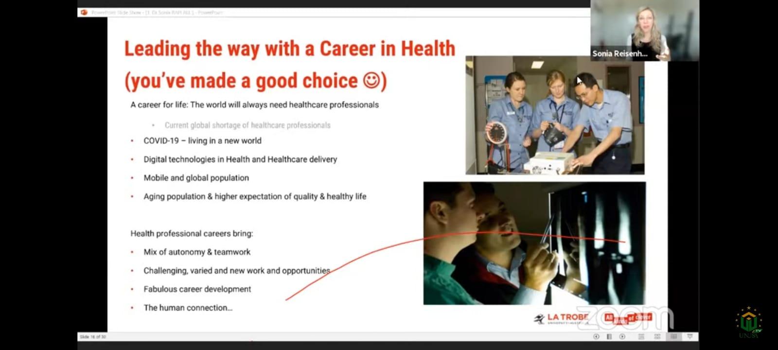 Penanganan Covid-19 Jadi Topik di Forum Mahasiswa Kesehatan Internasional