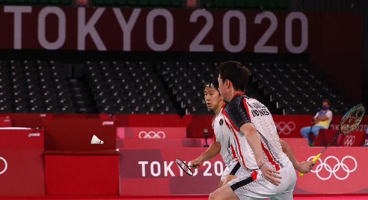 Dismash Malaysia, Marcus/Kevin Gagal ke Final Olimpiade