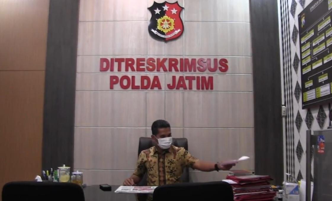 Wadir Reskrimsus Polda Jatim, AKBP Zulham Effendy (metrotv)