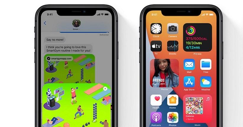update iOS 15  (Foto / Istimewa)