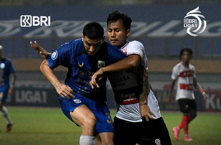 Madura United Gagal Patahkan Rekor PSIS