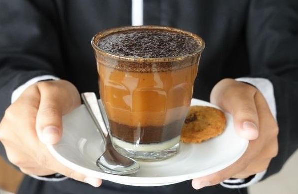 Penampakan kopi kopyok khas Gresik (Foto / Istimewa)