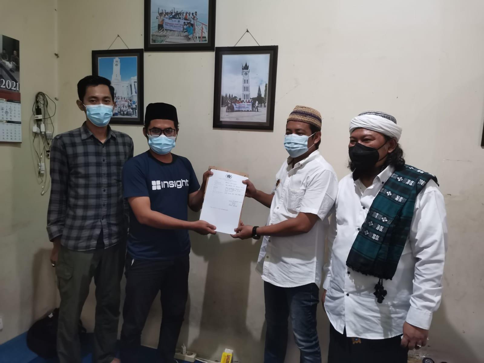 Diiringi Salawat Nabi, Ratno Resmi Mendaftar Calon Ketua PWI Gresik