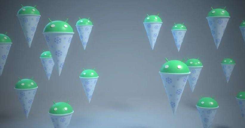 Snow Cone Resmi Jadi Nama Android 12