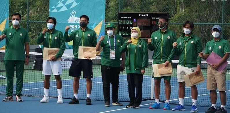 Sapu Bersih, Tenis Jatim Borong 7 Medali Emas di PON Papua
