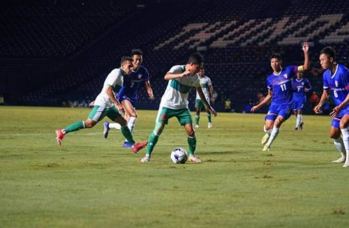 Duel Timnas Indonesia Vs Taiwan (pssi)