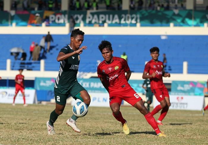 Duel tim PON Jatim vs Aceh. (ft/konijatim)