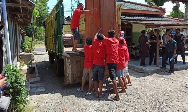 Perkara Piutang, Rumah di Ponorogo Dieksekusi