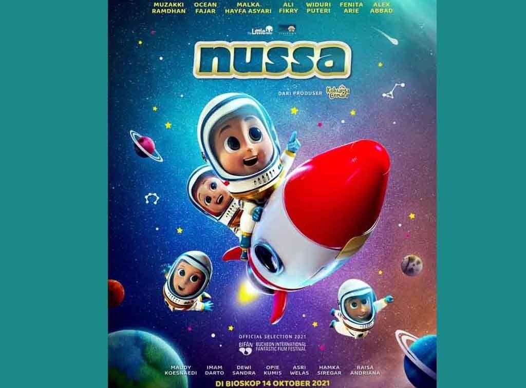 Film Nussa Tayang Dibioskop, Tiket Selalu Ludes