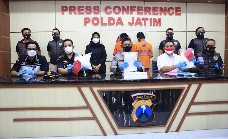 Dua Kurir Jaringan Madura Ditangkap, Amankan 6 Kilo Sabu