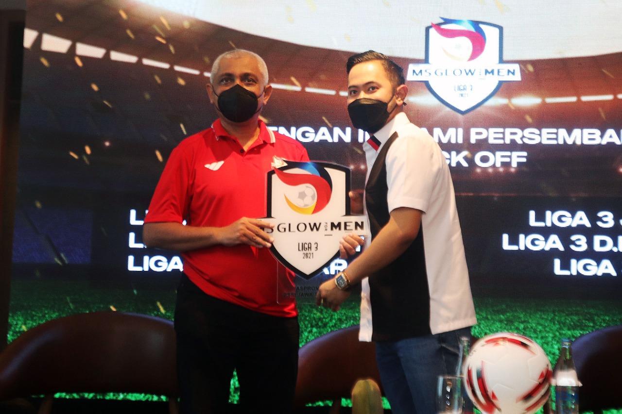 MS Glow dan Emtek Sponsori Liga 3 Se-Jawa