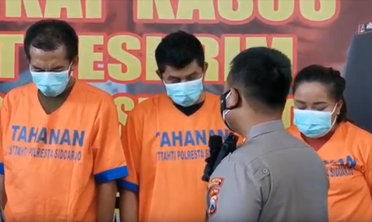 Trio Bandit Bandara Juanda Diringkus, Kuras ATM Korban Rp 107 Juta